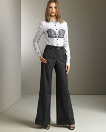 Trend Alert: High-Waisted Trousers