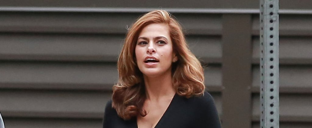 Eva Mendes Emerges After Giving Birth to Baby Esmeralda