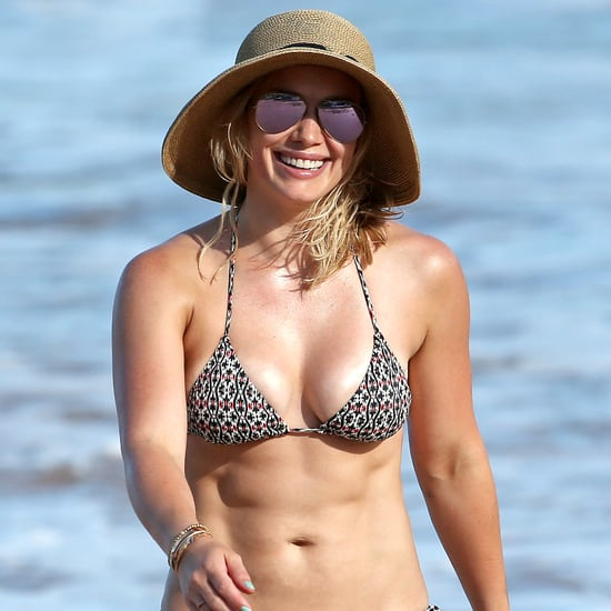 Hilary Duff Bikini Pictures in Hawaii September 2015