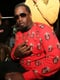 Diddy rocked a shirt with Biggie Smalls printed all over it.