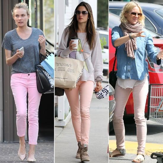 Diane Kruger in Pink Jeans | Pictures