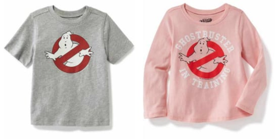 Old Navy's Take On 'Ghostbusters' Is Quite Different For Boys And Girls