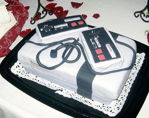 Trend: Geeky Wedding Cakes