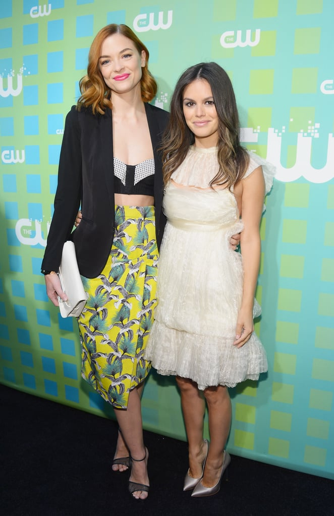 Rachel Bilson and Jaime King posed together at the CW Upfront.