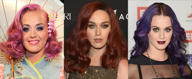 21 Times Katy Perry Had the Most Colorful Coif in Hollywood