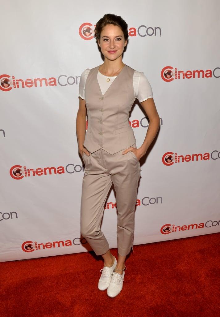 Shailene Woodley at CinemaCon