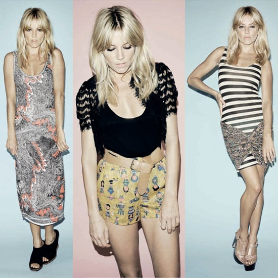 Sienna Miller pose dans le catalogue de printemps 2011 de Twenty8Twelve