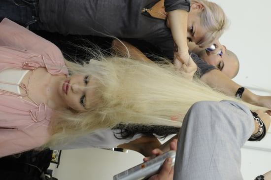 Spring 2012 Backstage Pictures: Prada, D&G, Fendi, Alberta Ferretti