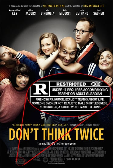 Don't Think Twice movie review