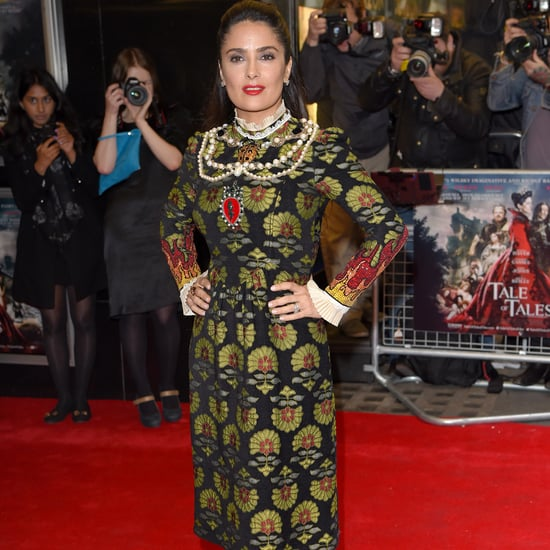 Salma Hayek Wearing Gucci at the Tale of Tales UK Premiere