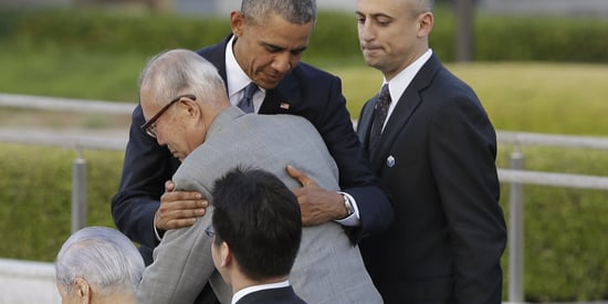 Obama Embraces Hiroshima Survivor Who Pushed To Add U.S. Victims' Names To Memorial