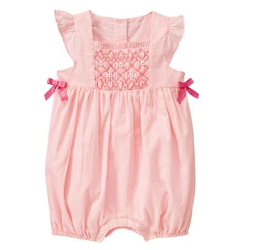 Janie and Jack Hand-Embroidered Smocked Bubble ($34)