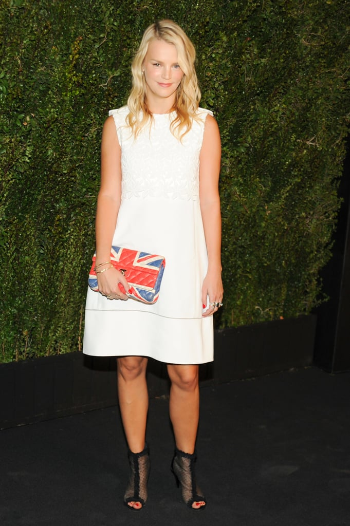 Kelly Sawyer at Chanel's private dinner honoring Drew Barrymore's Find It in Everything.