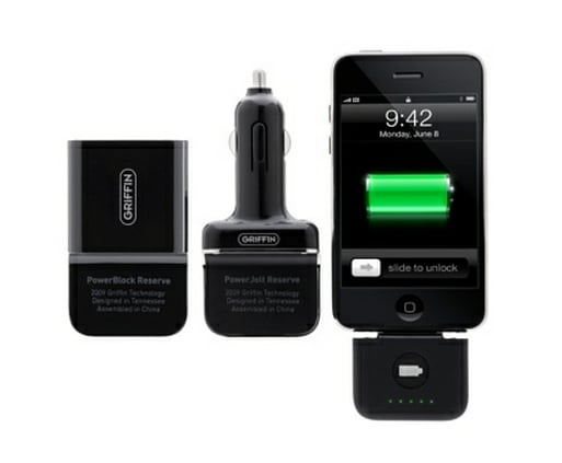 Griffin PowerDuo Reserve For iPod and iPhone ($70)