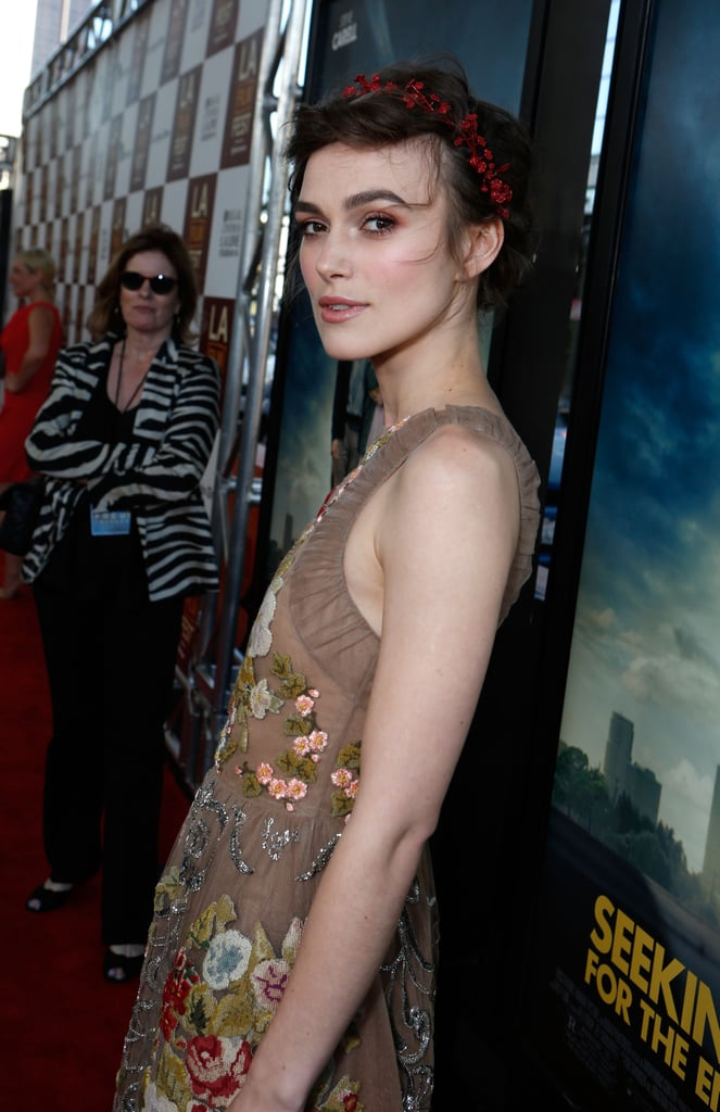 The cut revealed one of Keira's best assets — those toned arms.