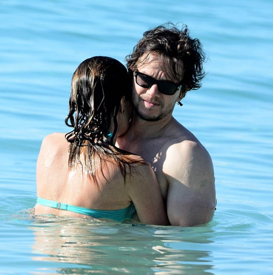 Mark Wahlberg and Rhea Durham spent Christmas in Barbados