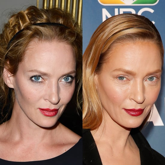 Whoa! Uma Thurman Hits the Red Carpet Looking Totally Different
