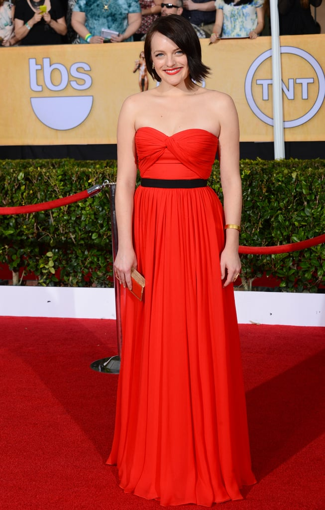 Elisabeth Moss at the SAG Awards 2014