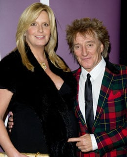 Penny Lancaster Gives Birth to Second Son With Rod Stewart Named Aiden