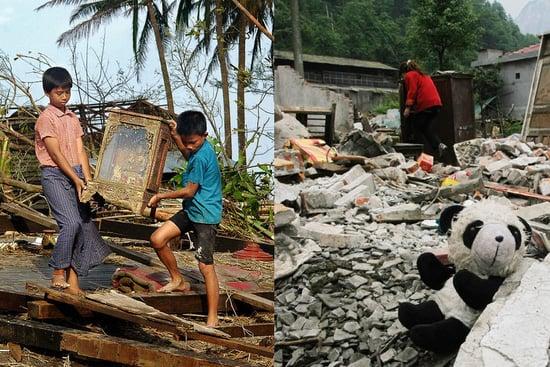 Biggest Headlines of 2008: Natural Disasters Strike Asia
