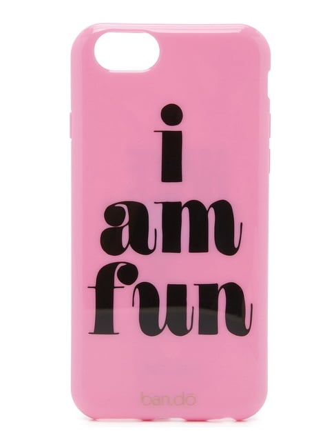 An adorable find for fun moms everywhere. ban.do phone case ($20)