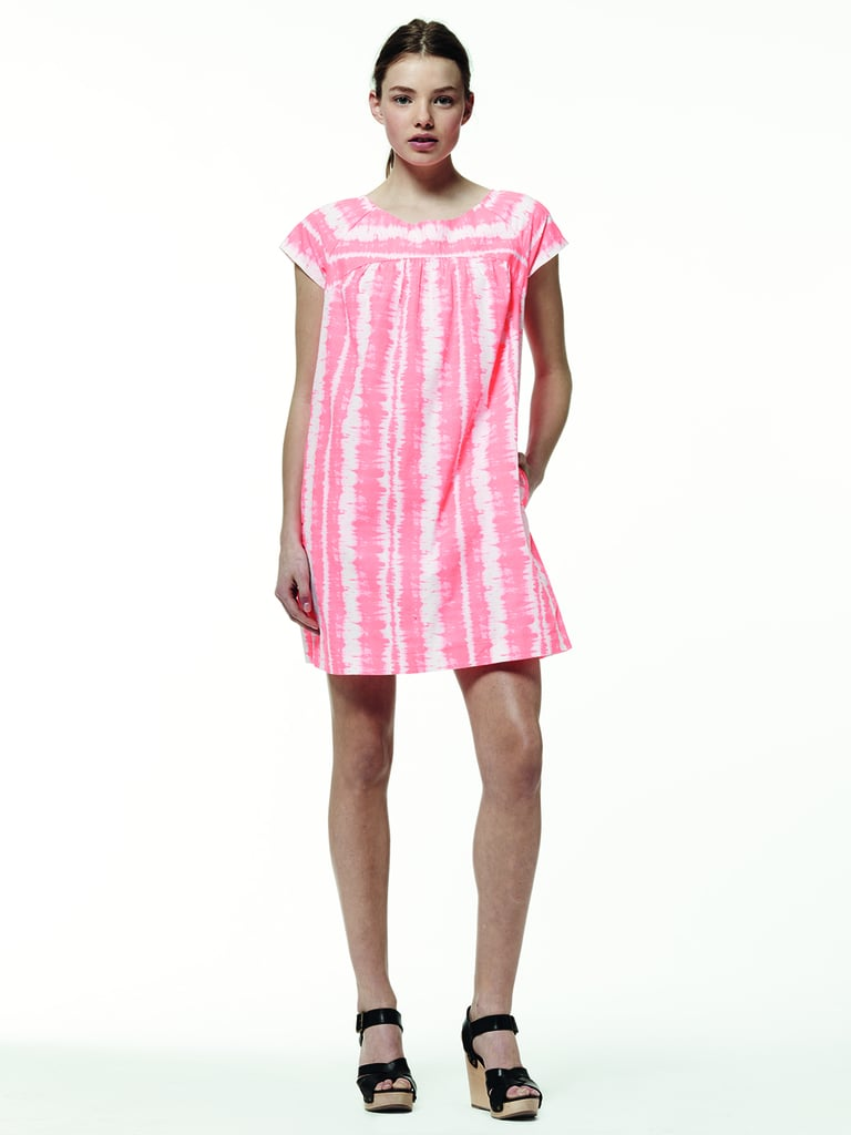 Headed for a tropical vacation? Why not consider this pretty pink dress as a traveling contender?