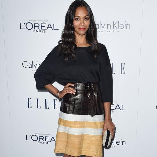 Zoe Saldana Shows Off Her Killer Salsa Moves