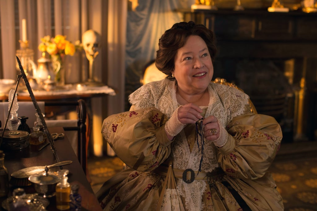 Kathy Bates as Madame Delphine LaLaurie in Coven
