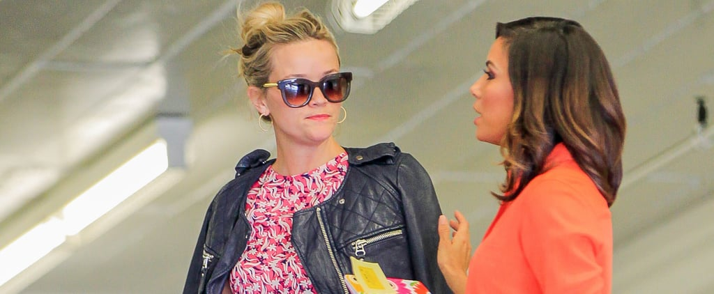 Reese Witherspoon Meets Up With Eva Longoria After Their Headline-Making Magazine Cover