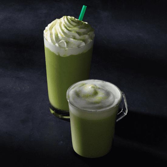 Citrus Green Tea Latte at Starbucks