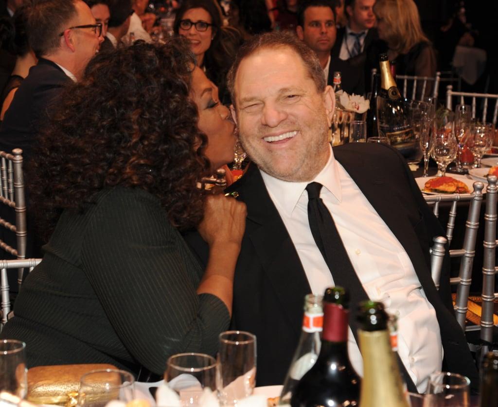 Oprah kissed Harvey Weinstein.
