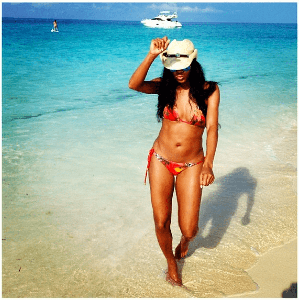 Gabrielle Union looked gorgeous on a tropical escape. Source: Instagram user gabunion