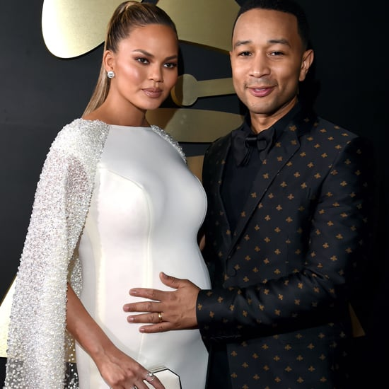Chrissy Teigen's Dress at the Grammys 2016