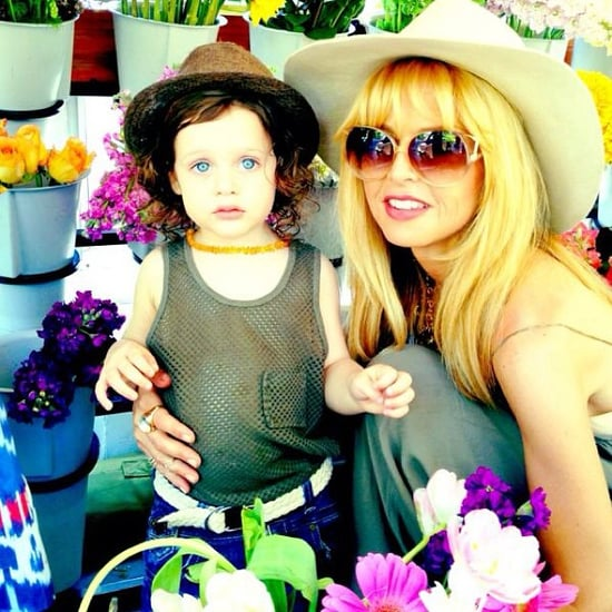 Celebrity Moms on Instagram 2013