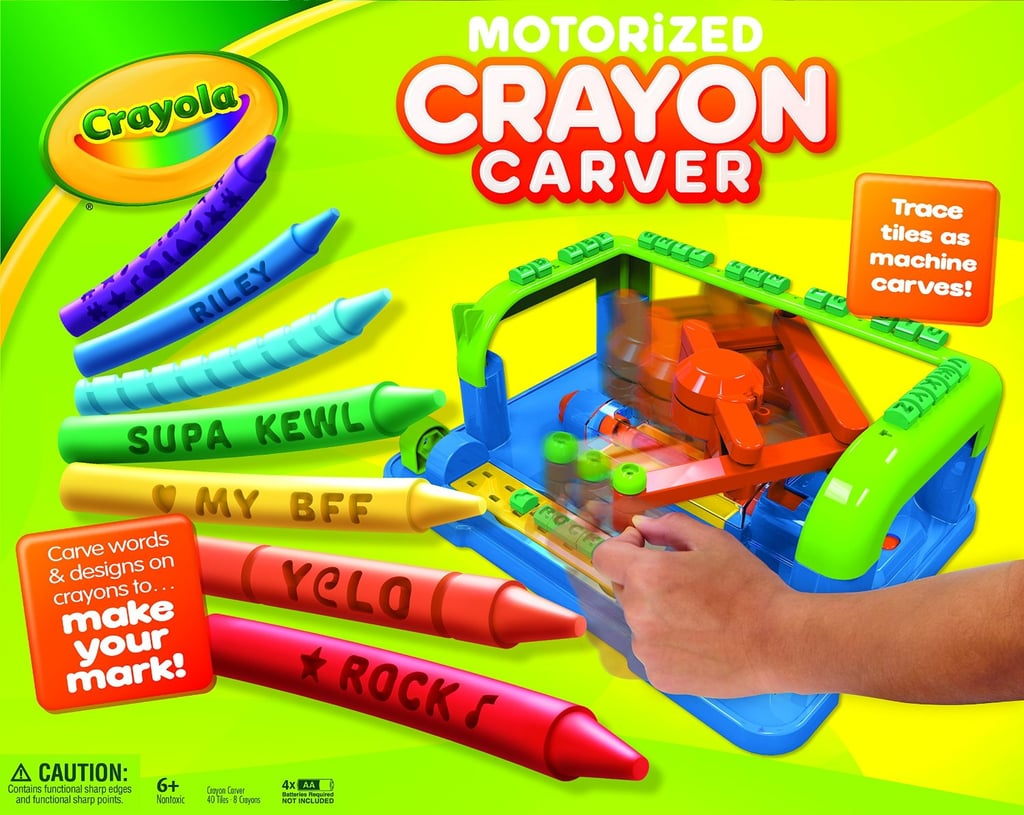 For 6-Year-Olds: Crayola Crayon Carver