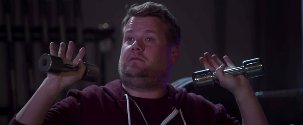 "James Corden Hilariously Verbalises All Your Thoughts About Kanye West's ""Fade"" Video"