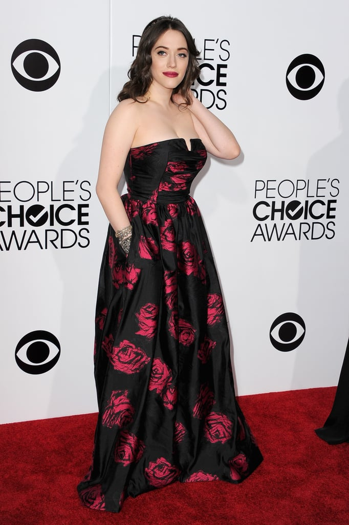 Kat Dennings at the People's Choice Awards 2014