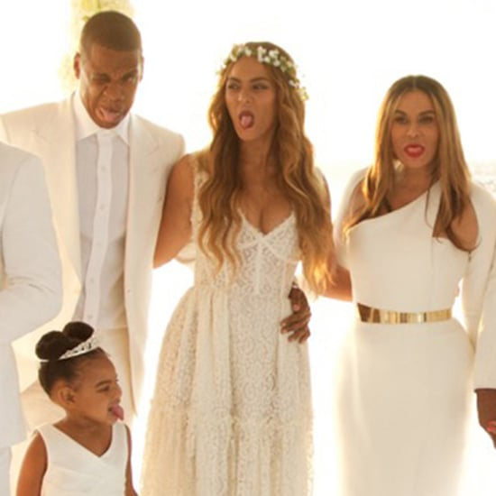 Tina Knowles Wedding Pictures