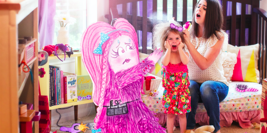 Magical Photo Series Brings Kids' Imaginary Friends To Life