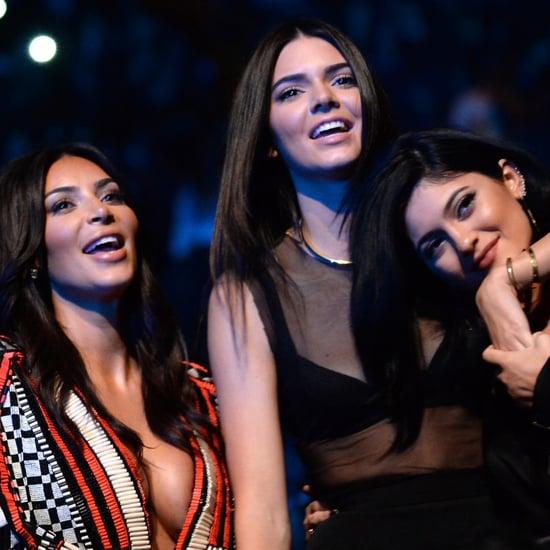 The Kardashians During Ferguson Tribute at the VMAs