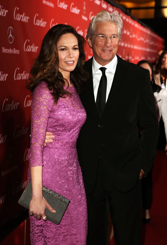 Richard Gere reunited with Diane Lane.