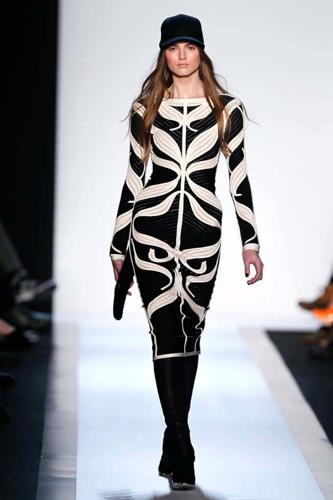 The 14 Sexiest Looks From the Hervé Léger Fall 2013 Runway