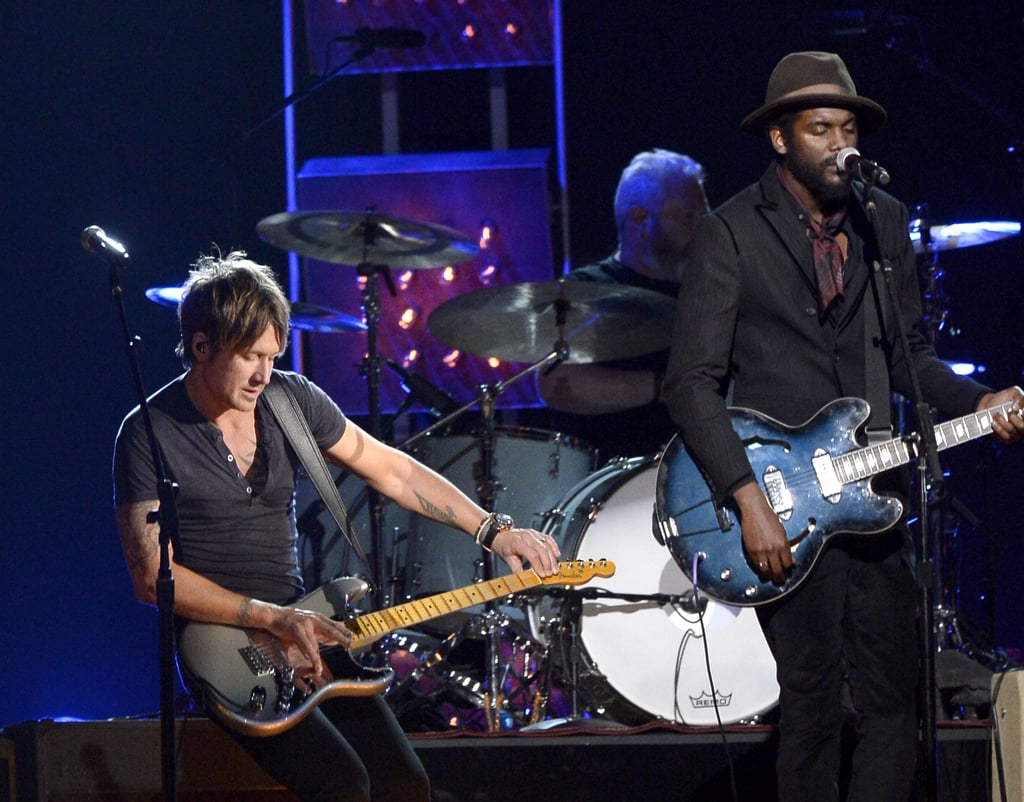 """Keith Urban and Gary Clark, Jr. performed """"Cop Car"""" together."""