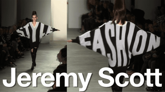 Jeremy Scott Interview Backstage at New York Fashion Week Fall 2010
