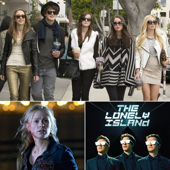 POPSUGAR Entertainment is heading indoors, at least temporarily, since the long-awaited Summer movie release The Bling Ring hits theaters this month, while ABC Family's Pretty Little Liars will also return to TV sets. Get the other entertainment picks you should be watching, listening, and reading for June!