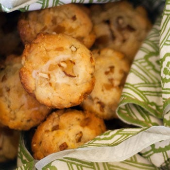 Corn Muffins Recipe With Pear and Candied Ginger