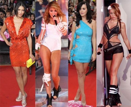 Pictures from the 2010 MuchMusic Awards Inc. Miley Cyrus, Katy Perry, Twilight Eclipse Ashley Greene, Kellan Lutz, Winners List