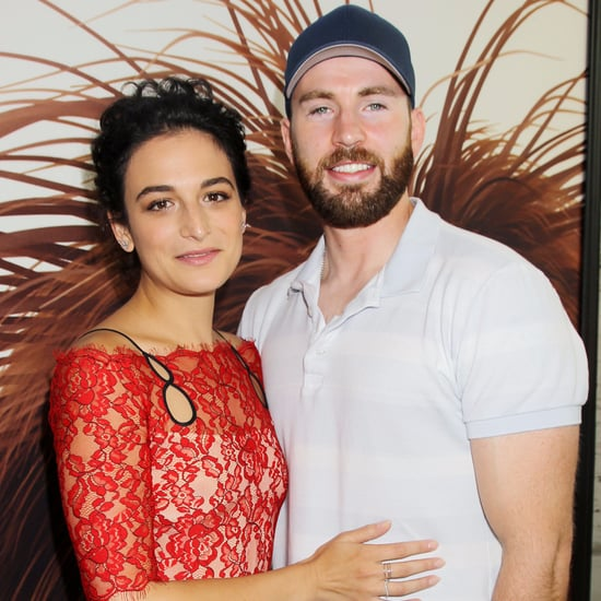 Chris Evans and Jenny Slate at Secret Life of Pets Premiere