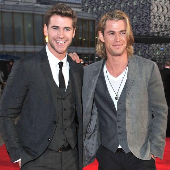 Liam Hemsworth Instagram Making Fun of His Brother Chris
