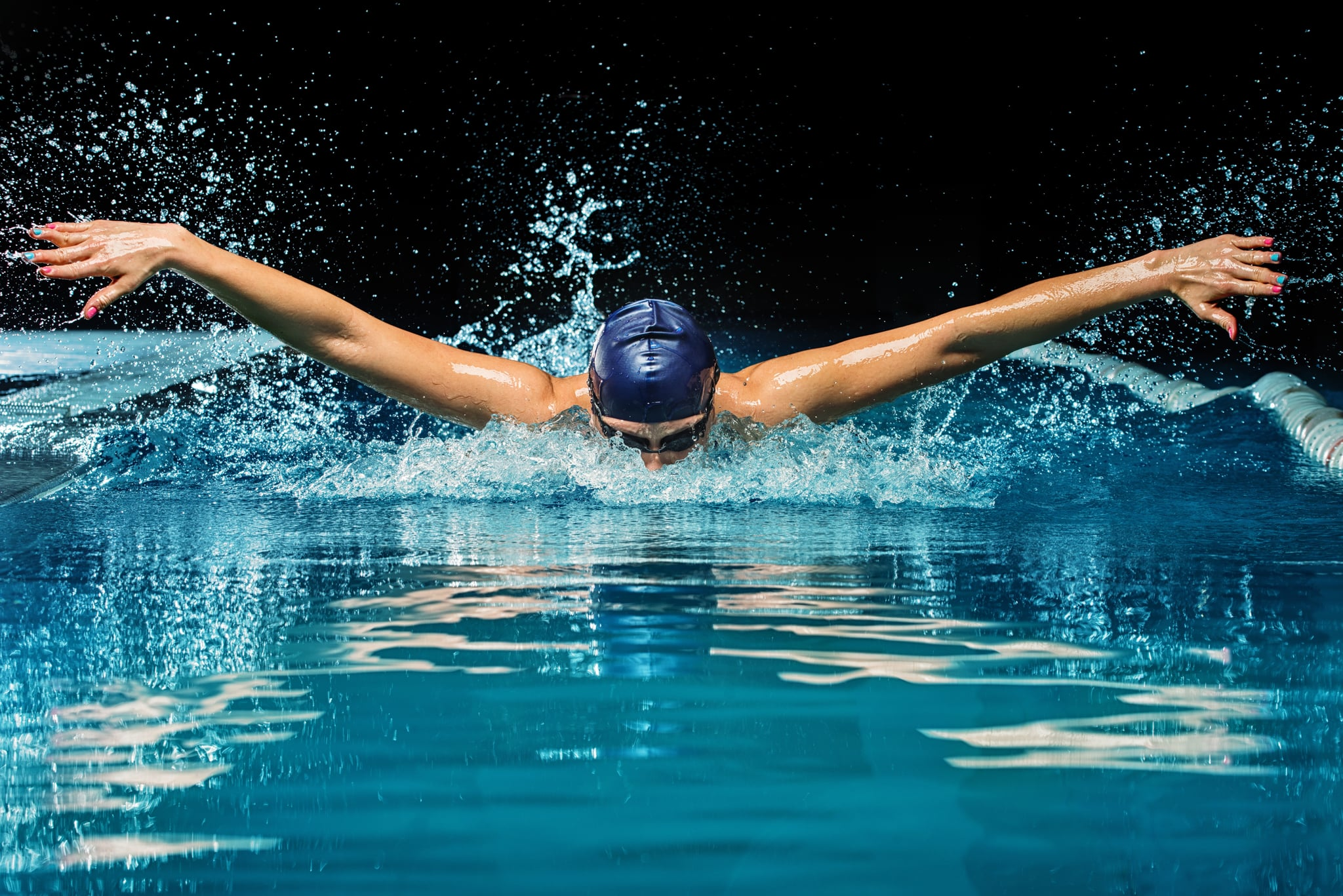 Competitive Swimming Practice Drill #2 - Freestyle Fist Drill